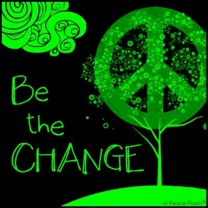 Be the change for a cause pinterest