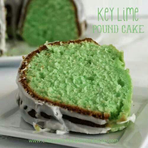 Key lime pound cake | Food ideas | Pinterest