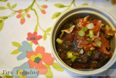 Black Bean and Bacon Dip | Dip It! | Pinterest
