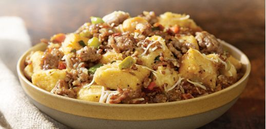 Italian sausage stuffing | Recipes | Pinterest