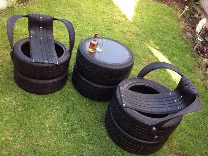 how to make old tyres soft