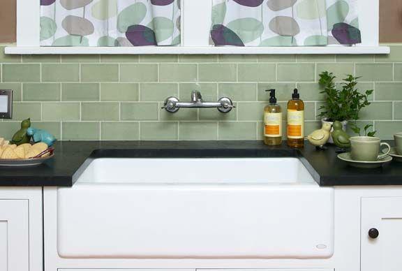 Farmhouse Sink With Backsplash : farmhouse sinks