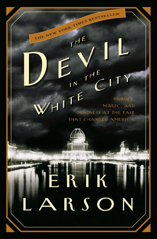 "The Devil in the White City.  A fascinating true account of a serial killer at the Chicago World's Fair. I found the man himself to be terrifying but the descriptions of the ""White City"" of the World's Fair are simply stunning and made me wish I could time travel to see that amazing exposition!"