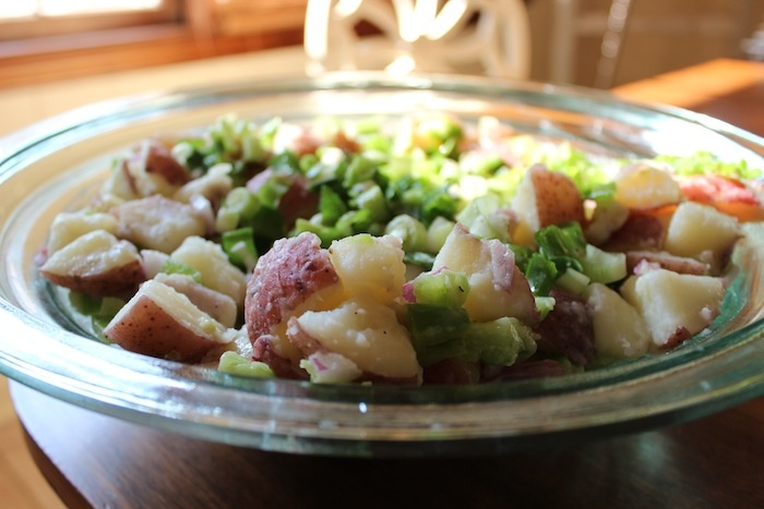 Baby Red Potato Salad | Side Dishes | Pinterest