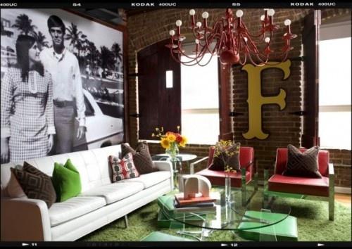 Interior - Industrial Living Spaces