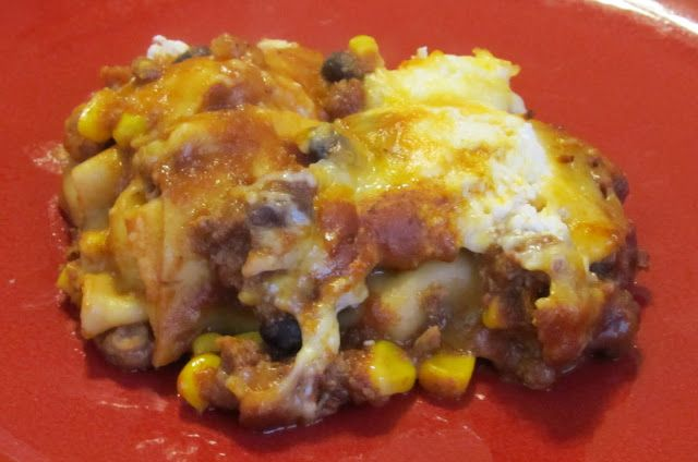 Becoming Betty: Mexican Lasagna | Mexican | Pinterest