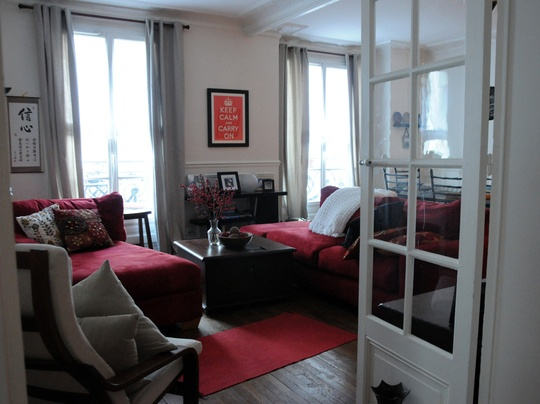 Red Black And White Living Room For The Home Pinterest