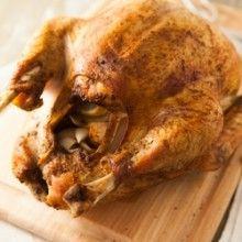 Savory Herb Rub Roasted Turkey   Food Recipes II   Pinterest