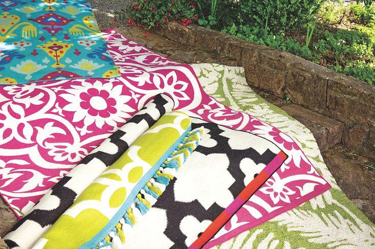 Outdoor Rugs  at Cost Plus World Market >> #WorldMarket Outdoor Entertaining, Outdoor Decor Tips,