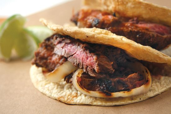 Grilled Steak Tacos.....don't know why I am putting this on the ...