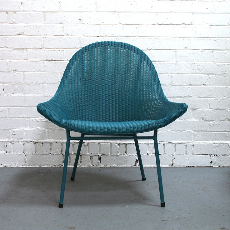 image of vintage lloyd loom chair lloyd loom revamp pinterest. Black Bedroom Furniture Sets. Home Design Ideas