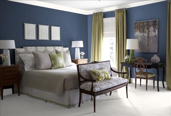 Benjamin moore kensington blue car interior design - Jamestown blue paint color ...