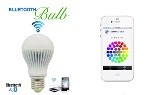"""""""The Bluetooth Bulb lets you pair your phone with one or more of the lights in your home…"""" –James Trew"""