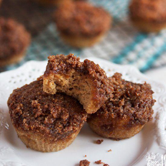 Paleo Coffee Crumb Cake Muffins (gluten-free, dairy-free, paleo) and ...