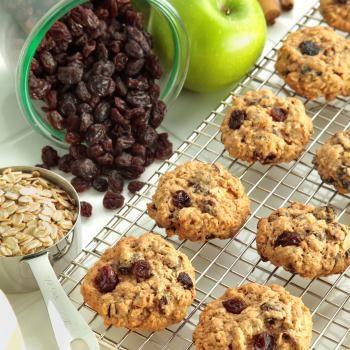 Raisin Breakfast Cookies. Substitute 1/4 cup honey and 3 Tbsp agave ...