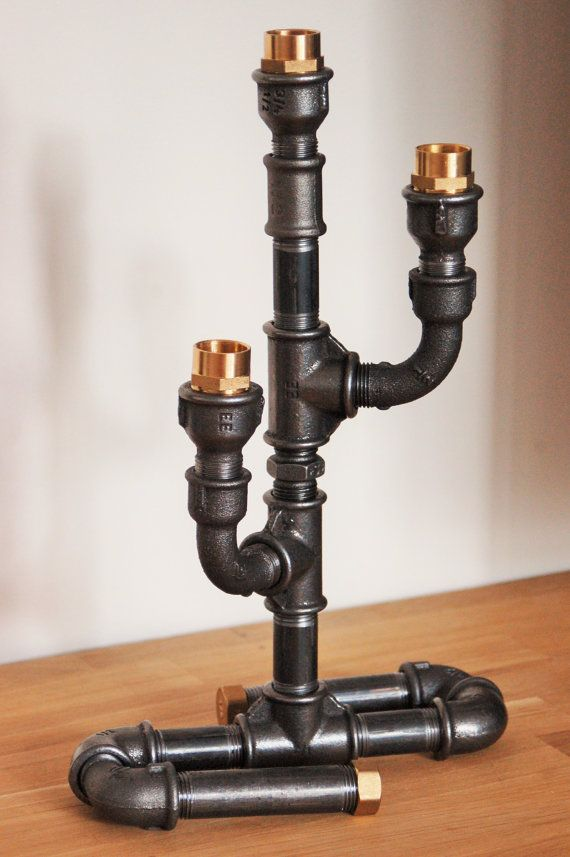 Поделки из водопроводных труб 236