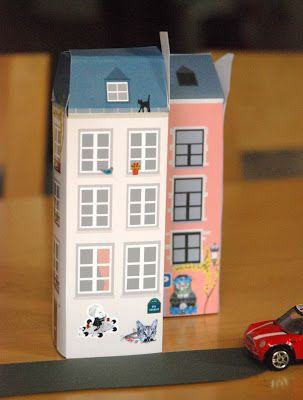 More printable houses - in Paris!