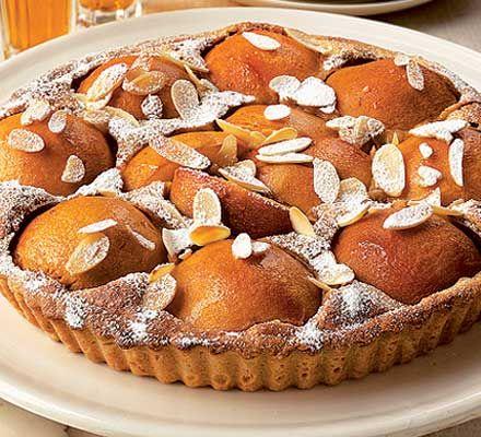 caramel almond tart raspberry almond lattice tart italian almond tart ...