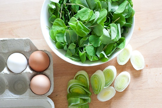 Spring Quiche with Leeks and Sorrel | Recipe