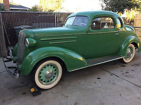 1936 chevy 5 window coupe cars things pinterest