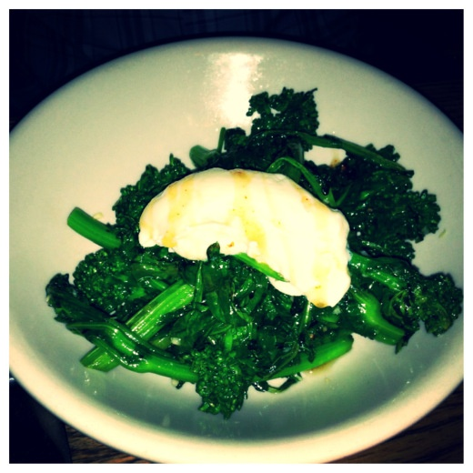 ricotta and broccoli rabe | side dish | Pinterest