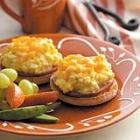 Egg Salad English Muffins ~ a different take on an Egg McMuffin