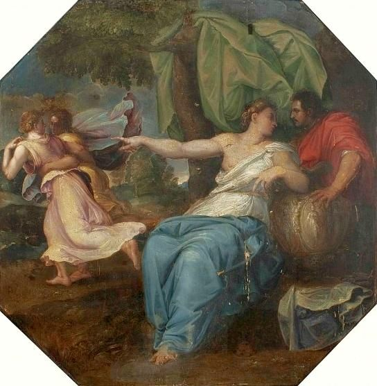 circe and odysseus The daughter of helios and perse, circe was a powerful enchantress versatile in the arts of herbs and potions and capable of turning human beings into animals she did just that to odysseus' sailors when they reached her dwelling place, the secluded island of aeaea.