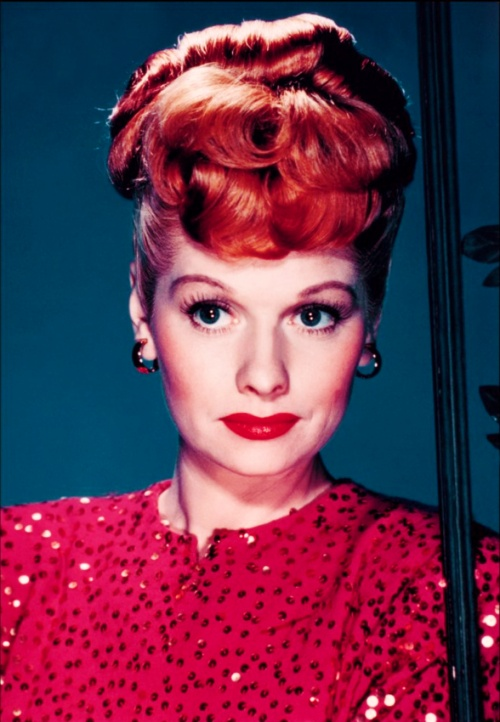 Lucille Ball Lucy Color Pinterest