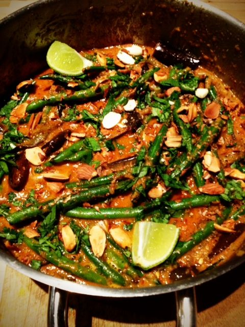 Eggplant and Green Bean Curry | Healthy Dinners | Pinterest