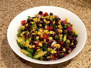Southwestern Black Bean Salad | Yummy | Pinterest