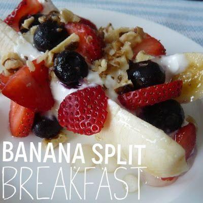 Breakfast Banana Splits | Food on Friday: Recipes that Kids Will Love ...