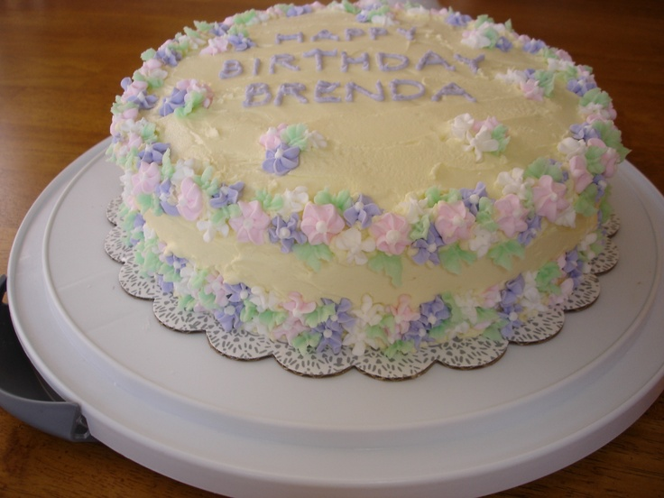 Cake With Royal Icing Flowers : Cake with royal icing flowers Cake Decorating ?deas ...