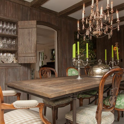 rustic chic dining room the comfortable home