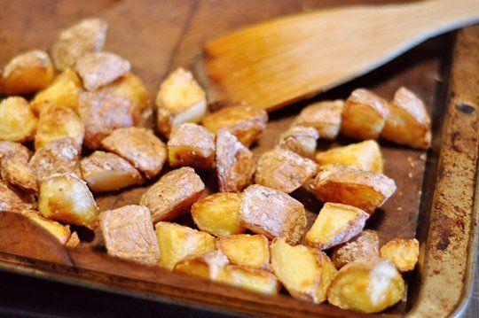 Side Dish Recipe: Extra-Crispy Tossed Potatoes
