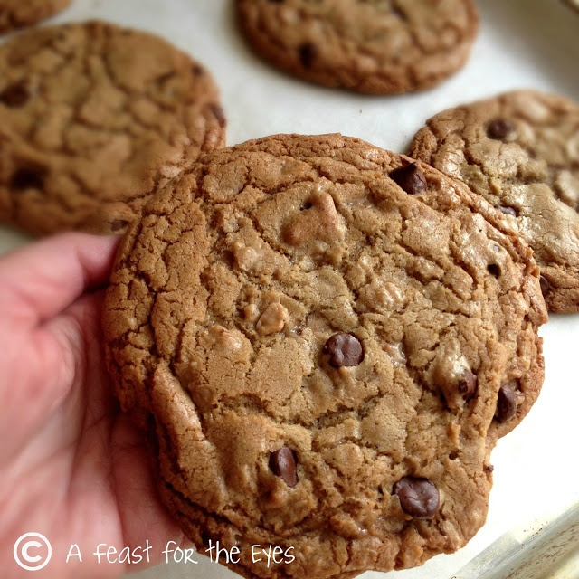 Milk Chocolate Cookies With Ginger And Toffee Recipes — Dishmaps