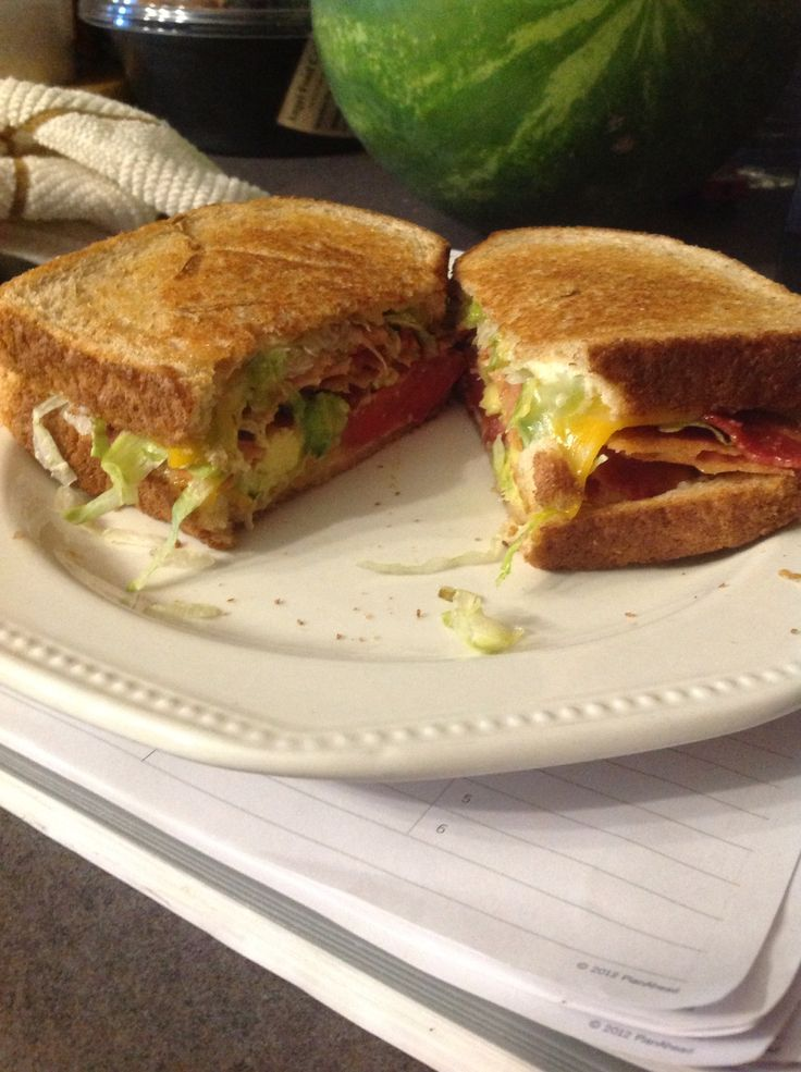 BLT avocado grilled cheese. Heavenly! | Food - Sammy's | Pinterest