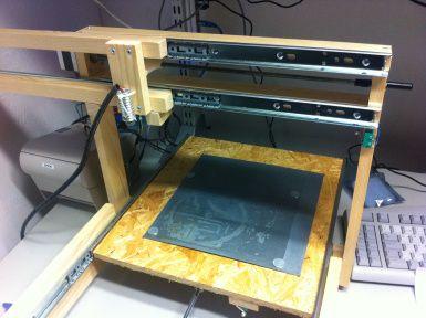 Laser engraver diy