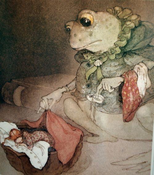 """Thumbelina"" by Lisbeth Zwerger"