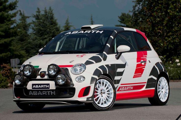 Fiat 500 Rally Car Fiat Abarth Pinterest