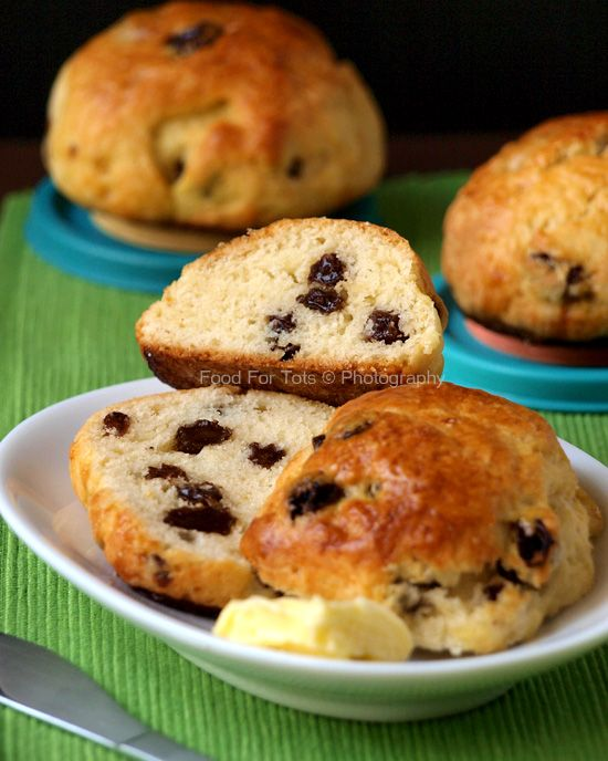 Raisin scones | recipes to try | Pinterest