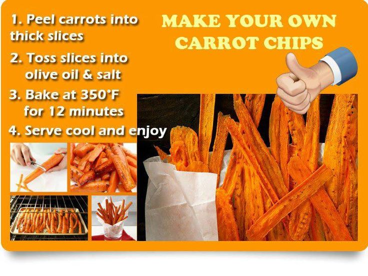"Carrot ""chips"" in the oven. Yummm 