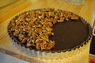 Lindsey Edits: Sea Salt Chocolate and Pecan Tart