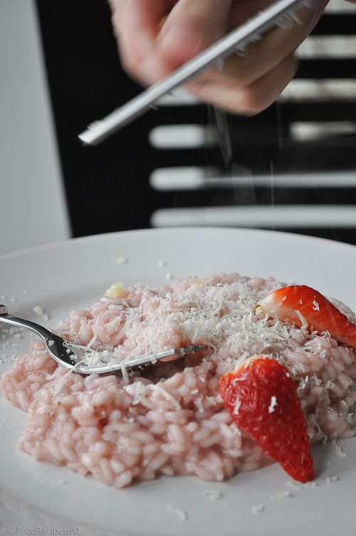 Easy and light Strawberry Risotto | Recipe