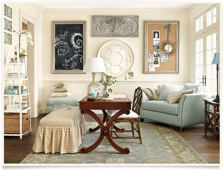 Ballard designs betsy home office decoration pinterest - Ballard design home office ...