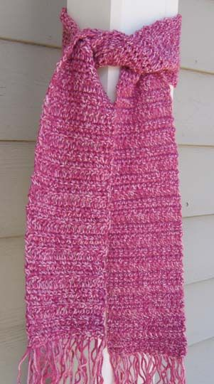 Crochet Pattern For Scarf Easy : SIMPLE CROCHETED SCARF FOR TEENS DIY Craft Ideas Pinterest