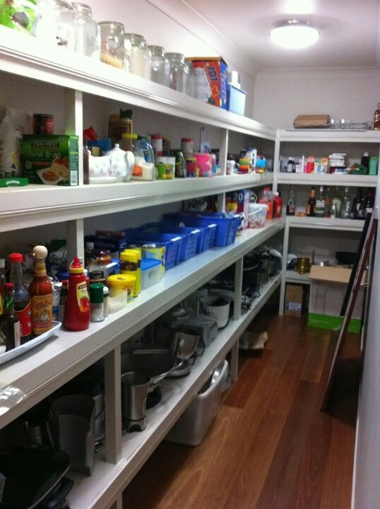 Pin by shaara crutchfield on my house dreams turning for Pantry designs australia