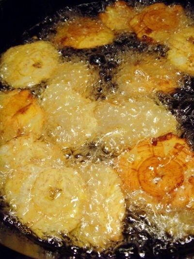 Fried Green Plantains | New Recipes-Main Dishes | Pinterest