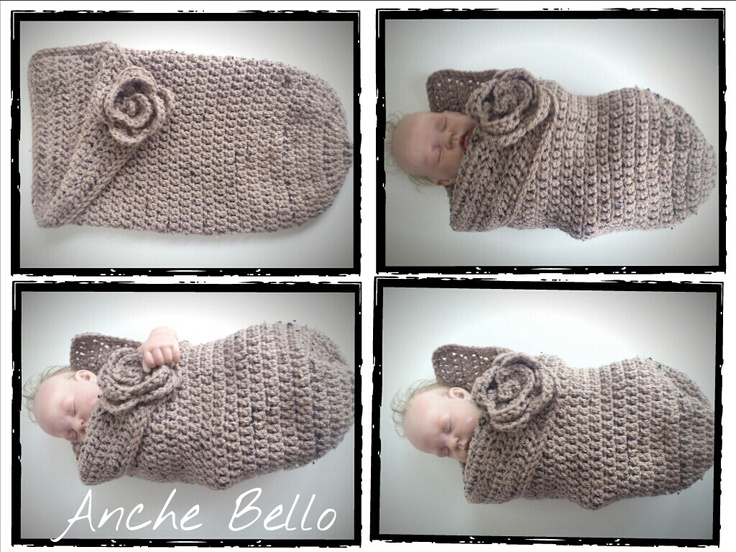 Crochet Baby Egg Cocoon Pattern : Crochet Baby Cocoon Crochet sets Pinterest