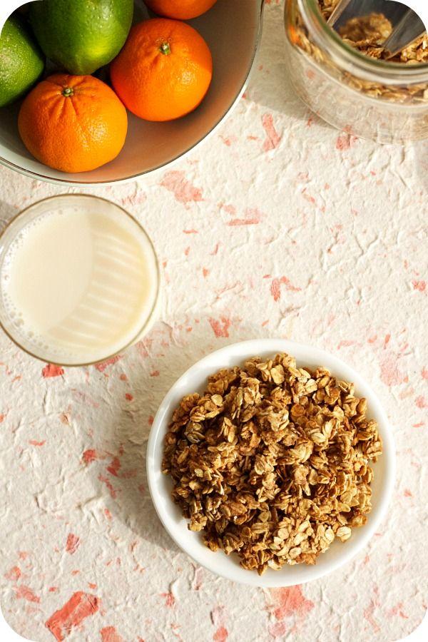 Apple Cinnamon Granola - | Food | Pinterest