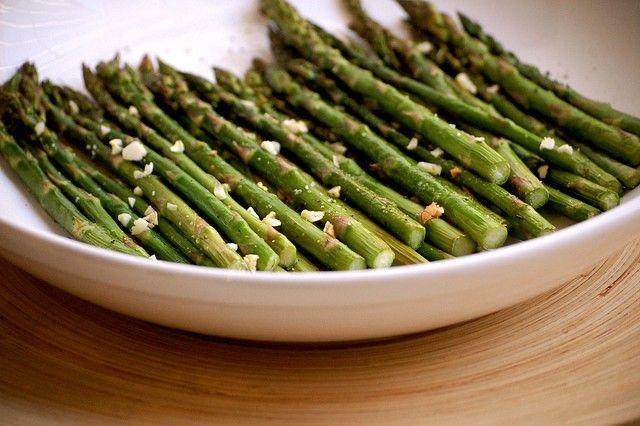 Simple Honey and Garlic Glazed Roasted Asparagus - foodista.com ...